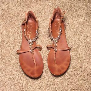 Jessica Simpson Sandals (Used) size 11